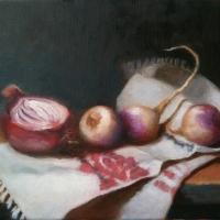 Still life with turnips
